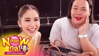 "Push Now Na: Julia Barretto proves that she's always ready with her ""orange pouch"""