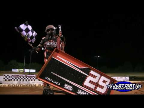 Kyle Amerson wins his First 360 Sprint car race