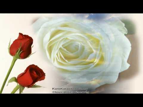 des-roses-blanches(chanter-par-karokaraokecountry)