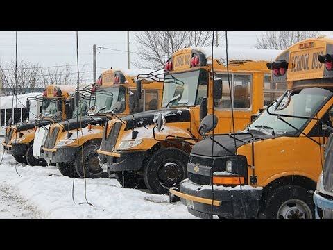 Extreme cold too much for newer school buses - Sudbury News