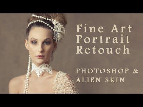 Fine Art Portrait Retouch With Photoshop & Alien Skin
