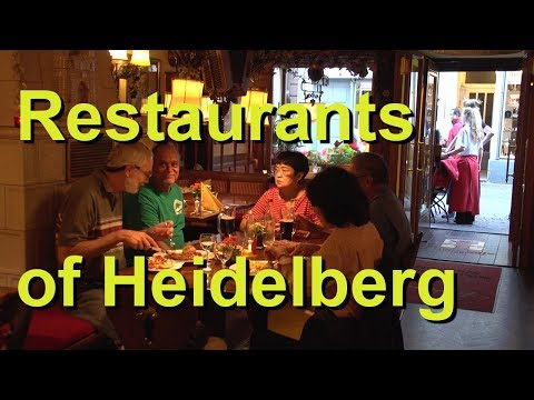 Restaurants of Heidelberg, Germany