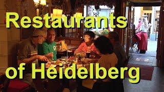 Restaurants of Heidelberg, Germany