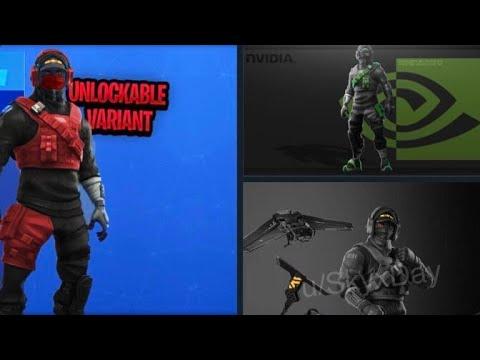 Nvidia Fortnite Skin