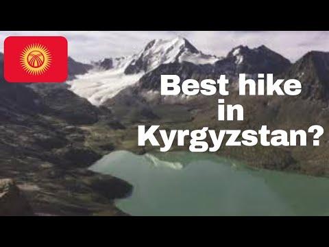 Trek to Lake Ala Kol Kyrgyzstan 2018