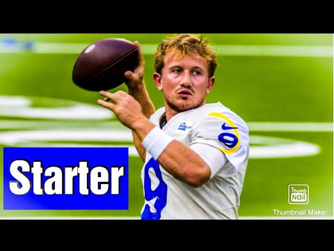 John Wolford To Start Against The Cardinals Jared Goff Broken Thumb Youtube