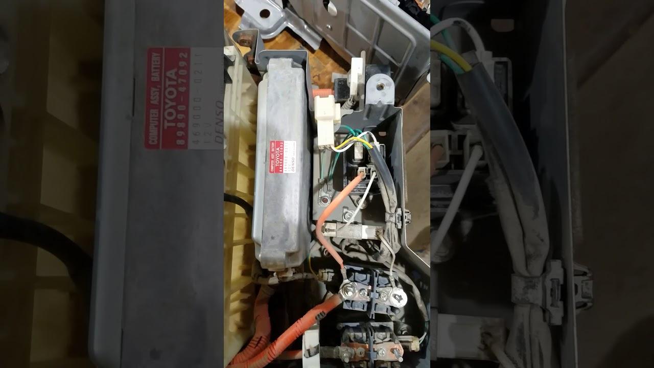 Toyota prius hybrid control system malfunction problem solved
