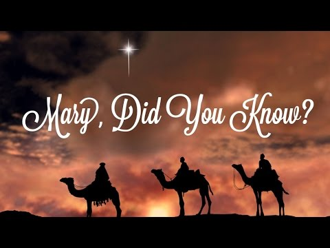Mary, did You Know?  Piano Instrumental Karaoke Track Cherish Tuttle