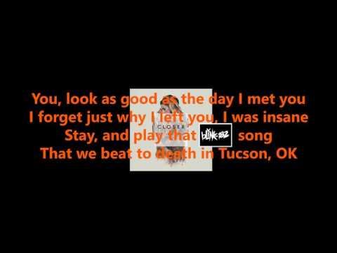 Closer - Chainsmokers ft. Halsey (Lyrics)