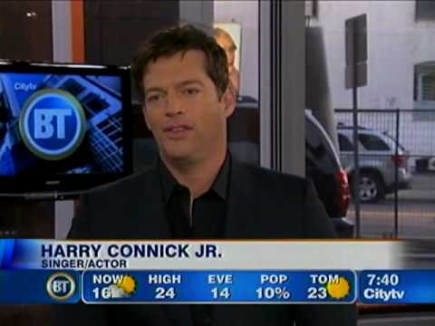 Harry Connick visits Breakfast Television Toronto - Sept 9