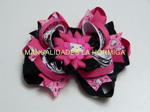 Mo o boutique como hacer mo os con cinta de tela ties for - Para hacer monos ...