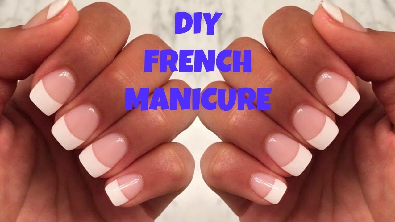 diy fake nails home acrylic