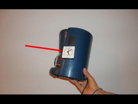 إجعل أي جهاز كهربائي يشتغل في الساعة التي تختارها بسهولة ومن مواد بسيطة!!