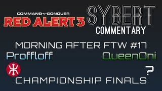 Proffloff[E] vs QueenOni[R] - Championship Finals - Red Alert 3
