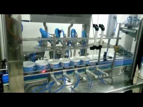 Otomatik kova dolum makinesi. Automatic bucket filling machines.