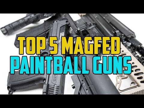 Top 5 Magfed Paintball Guns - 4K
