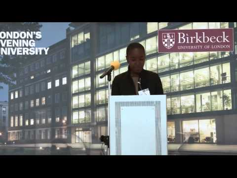 Scholars' Evening 2015: Dora talks about the impact her scholarship has made to her studies