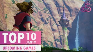 TOP 10 Amazing Upcoming Games | January 2019 |  PS4/XB1/SWITCH/PC