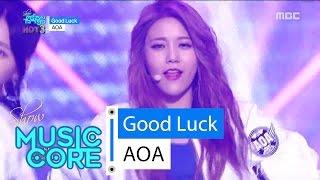 [HOT] AOA - Good Luck, 에이오에이 - 굿 럭 Show Music core 20160528