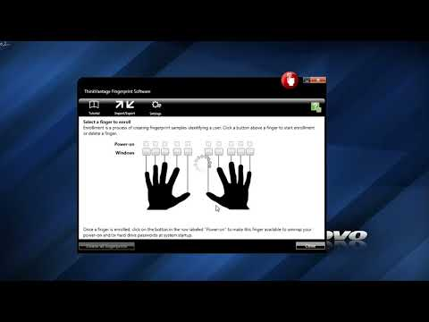 How to active Thinkpad fingerprint on windows 7 part 2