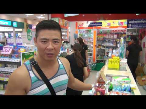 Living on $1,000 a Month in Bangkok Thailand!  Checking out the TESCO Department Store!