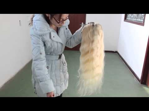 QingDao Bolin Hair products ,1B 613# lace front wig 8a grade real vedio | Initial Review
