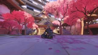 Overwatch Genji Background