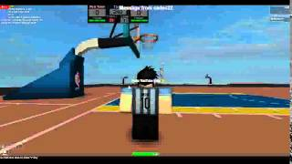 EPIC Trick Shot ROBLOX Basketball LBA EP. 2 *Inspired by Dude Perfect*