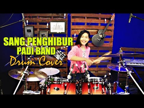 SANG PENGHIBUR - PADI BAND - Drum Cover by Nur Amira Syahira