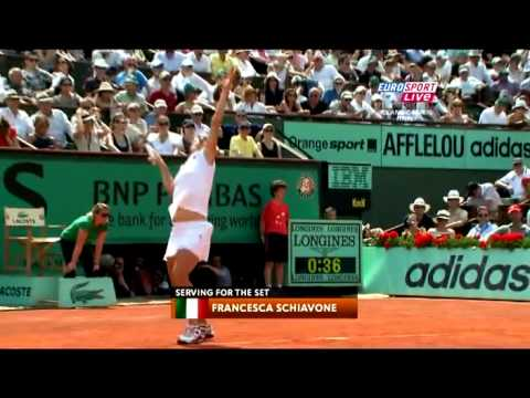 Roland Garros 2010 Final   Schiavone   Stosur