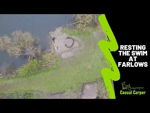 Farlows Lake: Resting The Swim Technique (Carp Fishing Challenge)