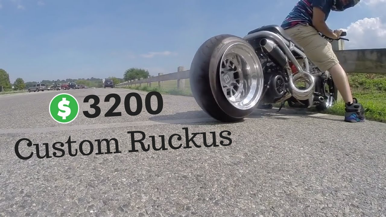 Très Custom Honda Ruckus: MUST SEE! - YouTube WC55