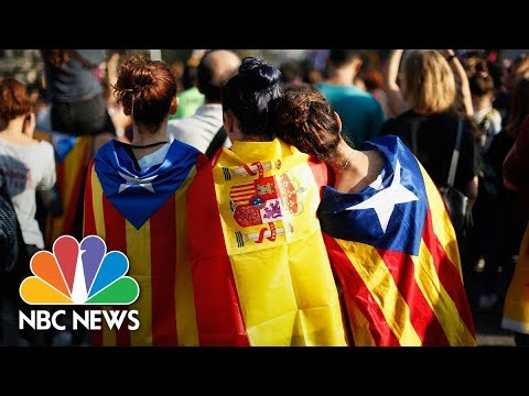 Turmoil In Spain: Behind Catalonia's Fight For Independence | NBC News