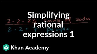 Simplifying rates and ratios | Ratios, proportions, units, and rates | Pre-Algebra | Khan Academy thumbnail