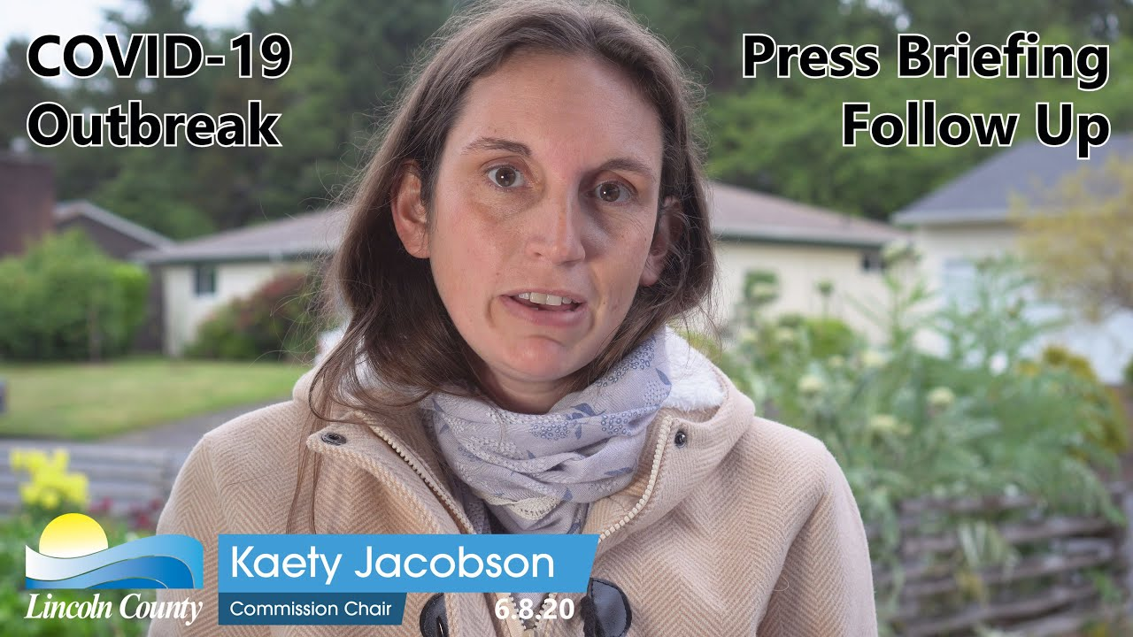 Kaety Jacobson County Covid Update