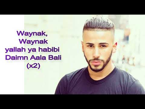 adam saleh  waynak ft faydee lyrics