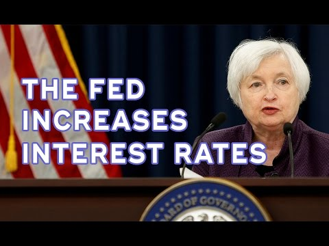 Federal Reserve Increases Interest Rates by 0.25% | Janet Yellen | 2016
