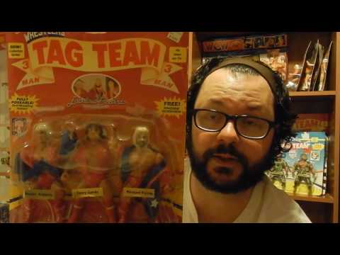 80's Toy Collection Room Tour!  Remco AWA Wrestling Figures collection part 1