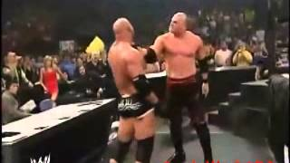 WWE Kane vs. Goldberg vs. Triple H (Armageddon 2003) Highlights