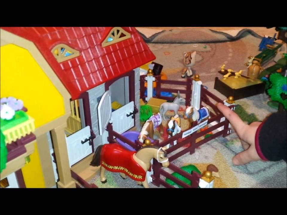 Haras playmobil de jade youtube - Playmobil haras ...