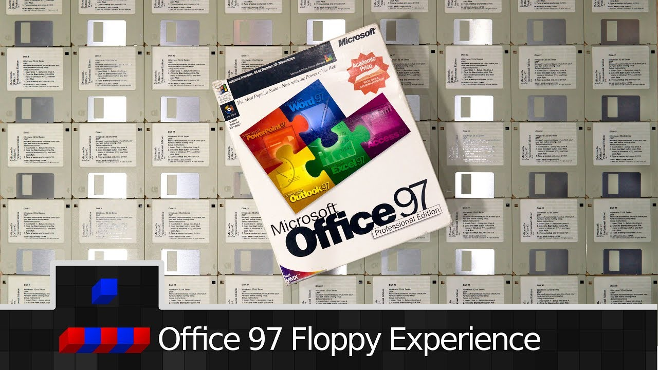 floppy office sticky notes 0x0018 the full office 97 floppy experience youtube