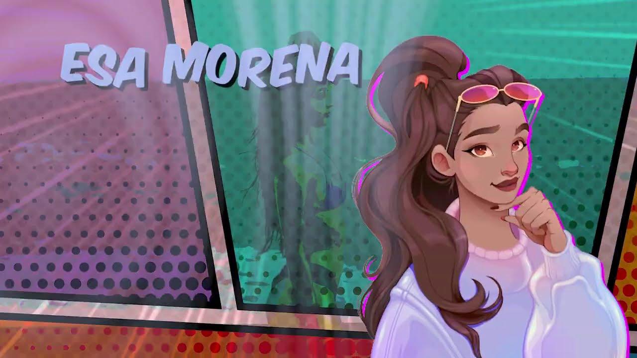 Luis Cortés - Esa Morena (Lyric Video/Letra)