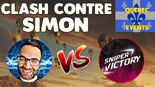 Clash of Clans - TEAM SIMON VS TEAM POMME - qui l'emportera ?!?