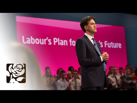 Ed Miliband Conference 2014 Speech