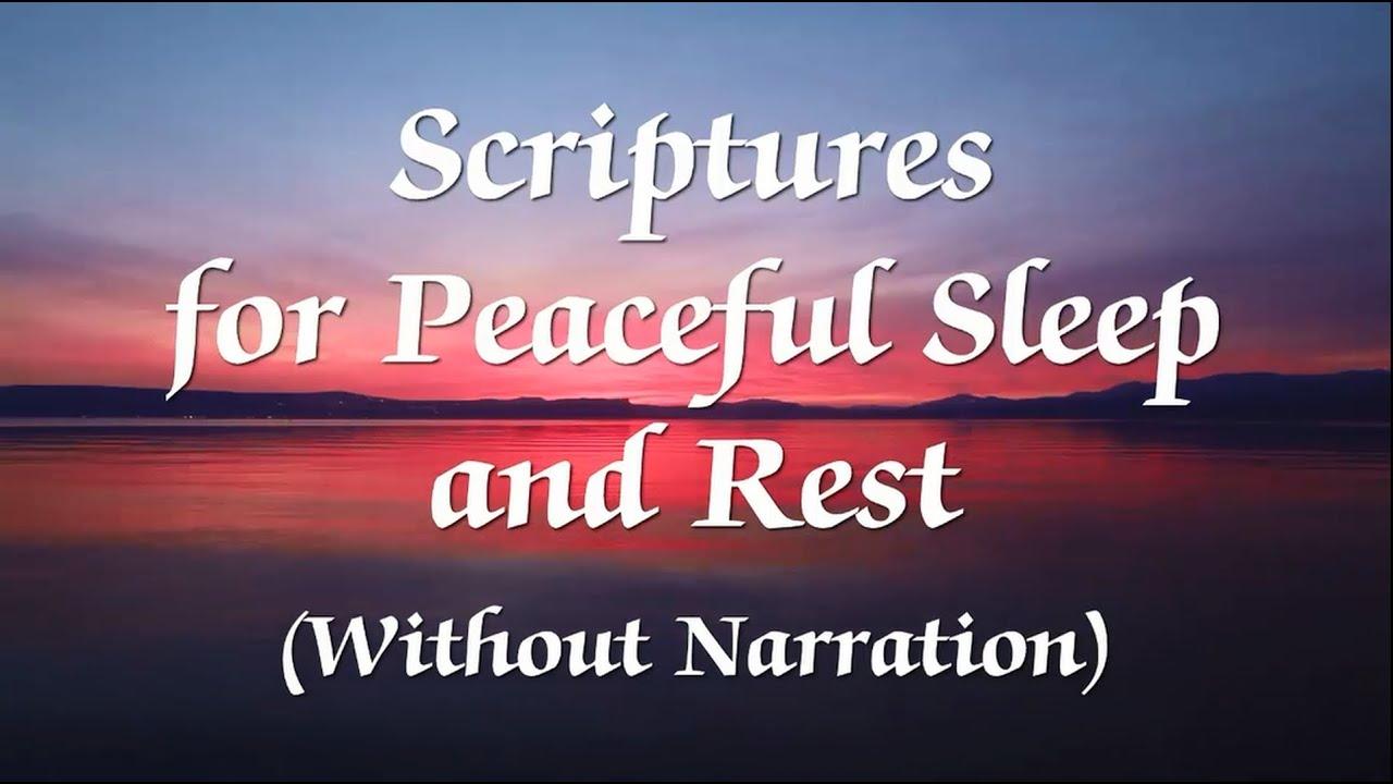 Bible Verses for Sleep