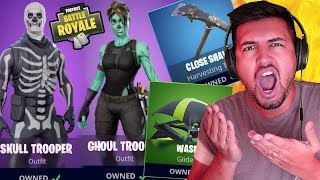 BUYING NEW HALLOWEEN UPDATE & RAGE QUIT | Fortnite: BATTLE ROYALE #4