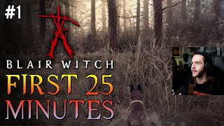 First 25 Minutes of Blair Witch Gameplay [#1] With Hybridpanda