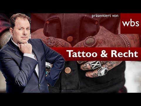 Tattoo & Recht: Die 10 wichtigsten Fragen und Antworten | Rechtsanwalt Christian Solmecke