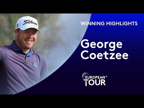 George Coetzee wins the Portugal Masters | 2020 Portugal Masters