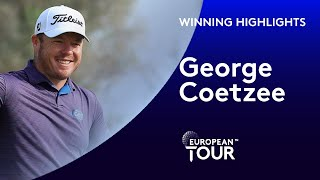 George Coetzee wins the Portugal Masters | 2020 Portugal Masters